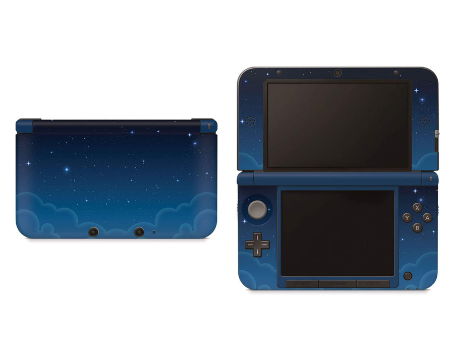 Sticky Bunny Shop Nintendo 3DS XL New 3DS XL Blue Night Sky Nintendo 3DS XL Skin