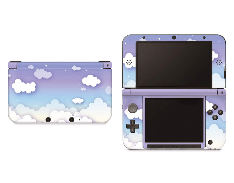 Sticky Bunny Shop Nintendo 3DS XL Clouds In The Sky Nintendo 3DS XL Skin
