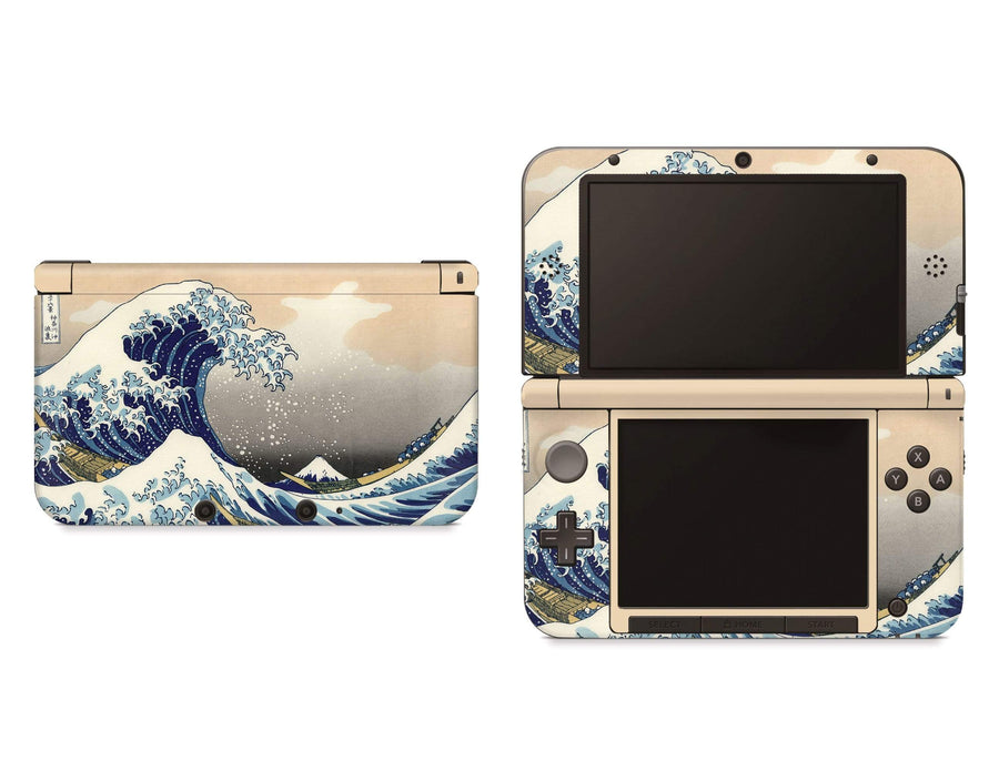 Sticky Bunny Shop Nintendo 3DS XL New 3DS XL Great Wave Off Kanagawa By Hokusai Nintendo 3DS XL Skin