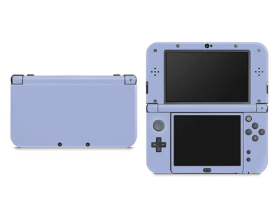 Sticky Bunny Shop Nintendo 3DS XL New 3DS XL / Ash Blue Cute Solid Pastel Nintendo New 3DS XL Skin | Choose Your Color