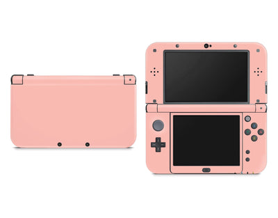 Sticky Bunny Shop Nintendo 3DS XL New 3DS XL / Baby Coral Cute Solid Pastel Nintendo New 3DS XL Skin | Choose Your Color