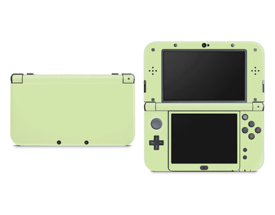 Sticky Bunny Shop Nintendo 3DS XL New 3DS XL / Baby Green Cute Solid Pastel Nintendo New 3DS XL Skin | Choose Your Color