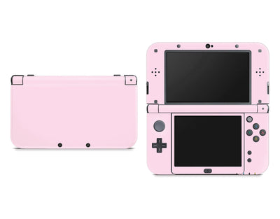 Sticky Bunny Shop Nintendo 3DS XL New 3DS XL / Baby Pink Cute Solid Pastel Nintendo New 3DS XL Skin | Choose Your Color