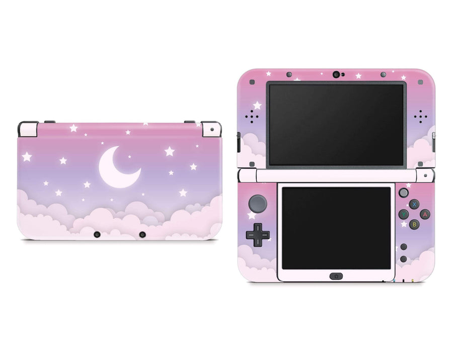 Sticky Bunny Shop Nintendo 3DS XL New 3DS XL Cute Lunar Sky Nintendo New 3DS XL Skin