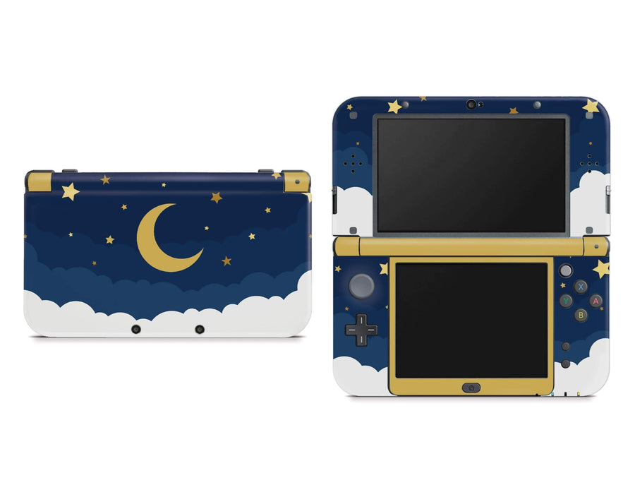 Sticky Bunny Shop Nintendo 3DS XL New 3DS XL Dark Lunar Sky Nintendo New 3DS XL Skin