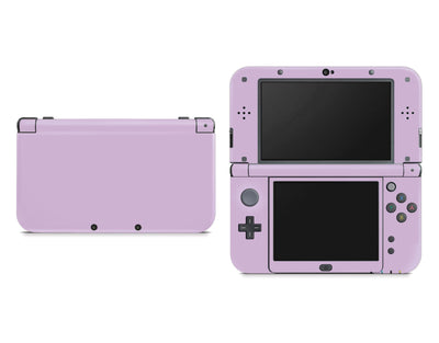 Sticky Bunny Shop Nintendo 3DS XL New 3DS XL / Lavender Cute Solid Pastel Nintendo New 3DS XL Skin | Choose Your Color