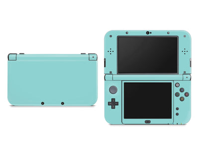 Sticky Bunny Shop Nintendo 3DS XL New 3DS XL / Light Teal Cute Solid Pastel Nintendo New 3DS XL Skin | Choose Your Color