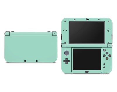 Sticky Bunny Shop Nintendo 3DS XL New 3DS XL / Mint Cute Solid Pastel Nintendo New 3DS XL Skin | Choose Your Color