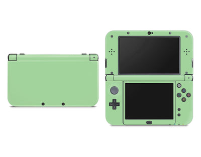 Sticky Bunny Shop Nintendo 3DS XL New 3DS XL / Pastel Green Cute Solid Pastel Nintendo New 3DS XL Skin | Choose Your Color