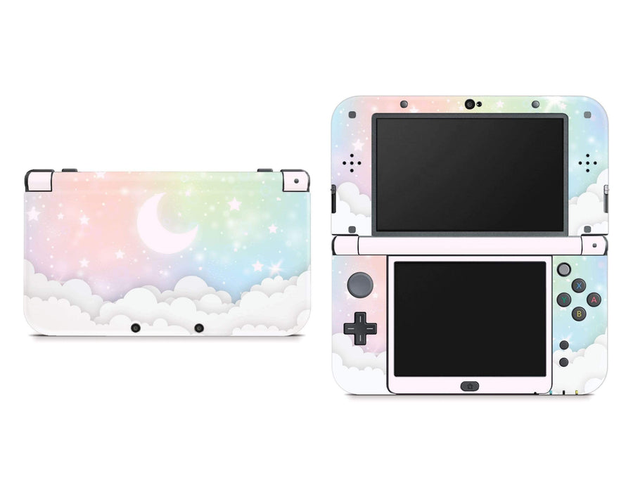 Sticky Bunny Shop Nintendo 3DS XL New 3DS XL Pastel Lunar Sky Nintendo New 3DS XL Skin
