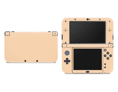 Sticky Bunny Shop Nintendo 3DS XL New 3DS XL / Pastel Orange Cute Solid Pastel Nintendo New 3DS XL Skin | Choose Your Color
