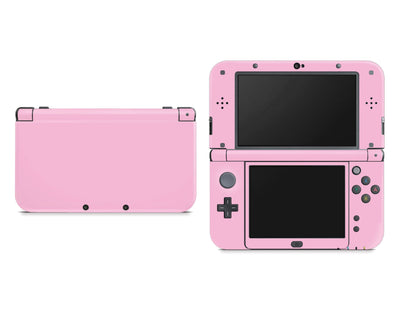 Sticky Bunny Shop Nintendo 3DS XL New 3DS XL / Pastel Pink Cute Solid Pastel Nintendo New 3DS XL Skin | Choose Your Color