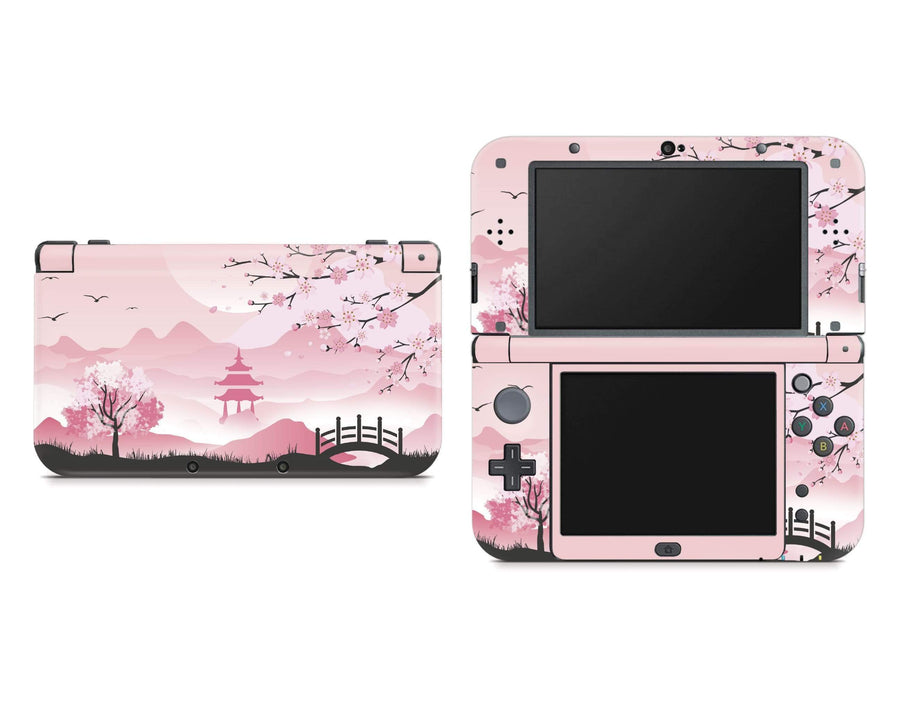 Sticky Bunny Shop Nintendo 3DS XL New 3DS XL Pink Sakura Nintendo New 3DS XL Skin