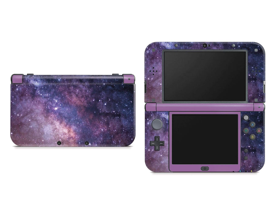 Sticky Bunny Shop Nintendo 3DS XL New 3DS XL Purple Galaxy Nintendo New 3DS XL Skin
