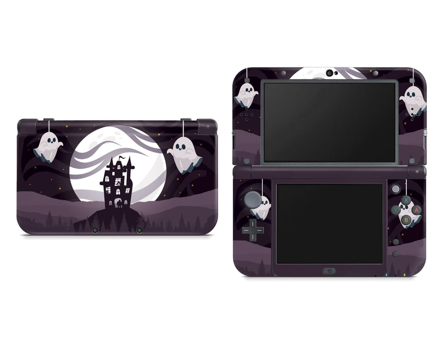 Sticky Bunny Shop Nintendo 3DS XL New 3DS XL Spooky Ghosts Moon Edition Nintendo New 3DS XL Skin