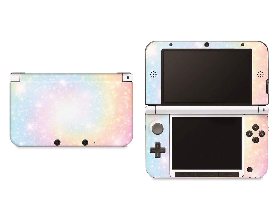 Sticky Bunny Shop Nintendo 3DS XL New 3DS XL Pastel Swirl Nintendo 3DS XL Skin
