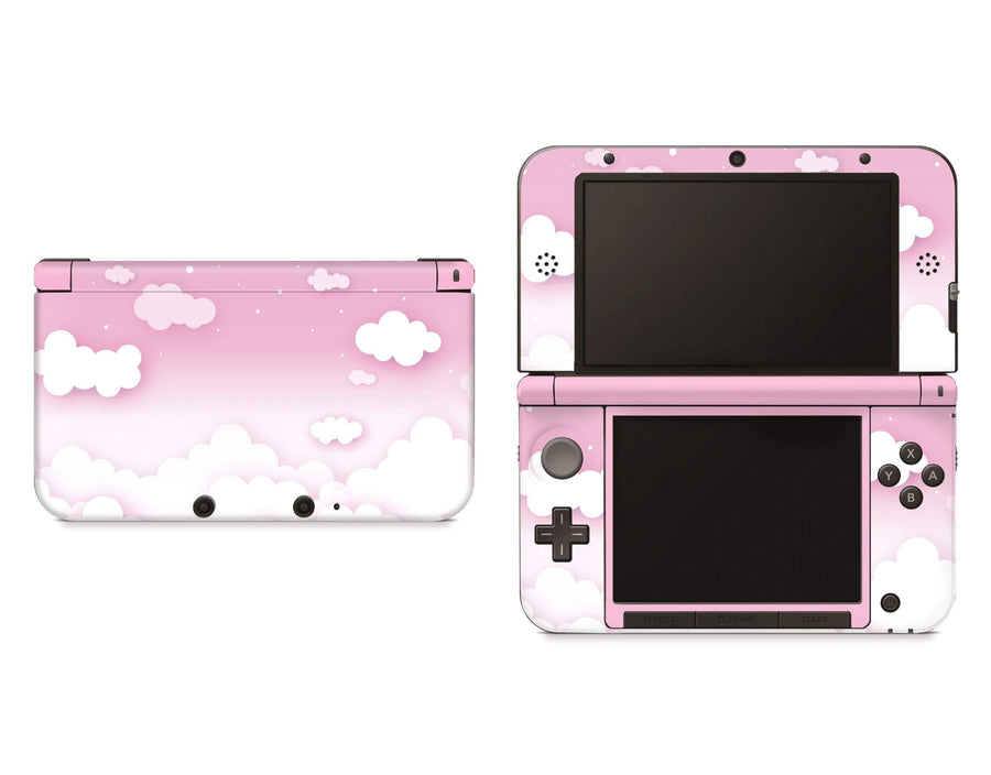 Sticky Bunny Shop Nintendo 3DS XL Pink Clouds In The Sky Nintendo 3DS XL Skin