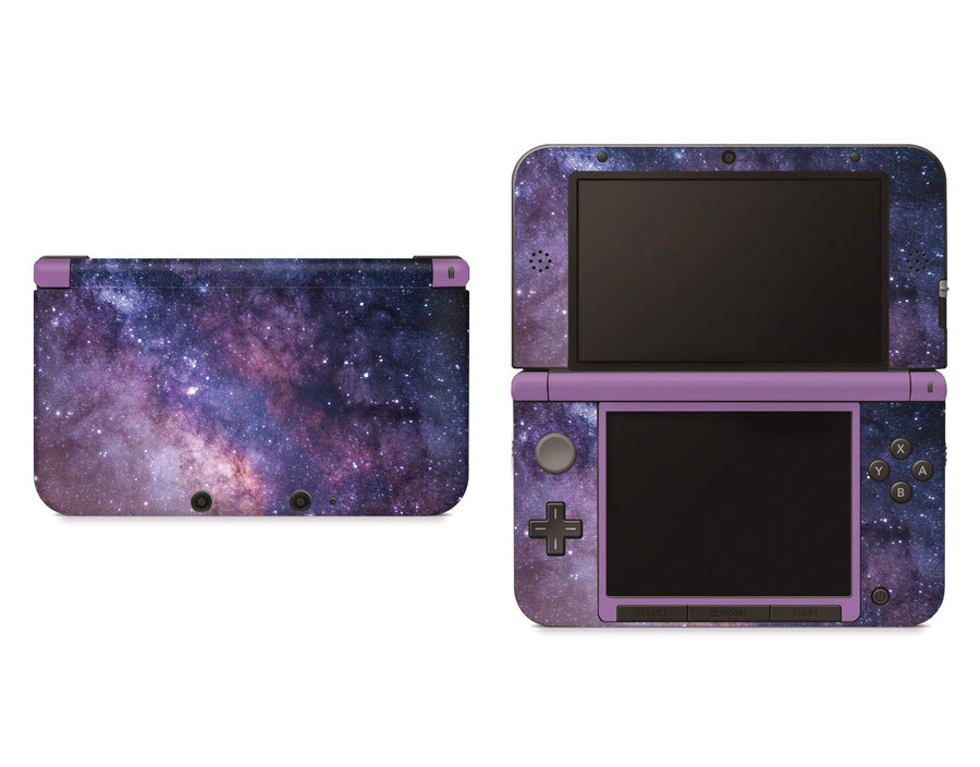 Sticky Bunny Shop Nintendo 3DS XL New 3DS XL Purple Galaxy Nintendo 3DS XL Skin