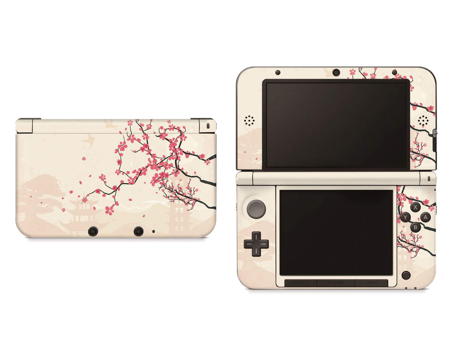 Sticky Bunny Shop Nintendo 3DS XL New 3DS XL Sakura Blossoms Nintendo 3DS XL Skin