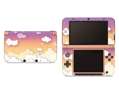 Sticky Bunny Shop Nintendo 3DS XL Sunset Clouds In The Sky Gradient Nintendo 3DS XL Skin