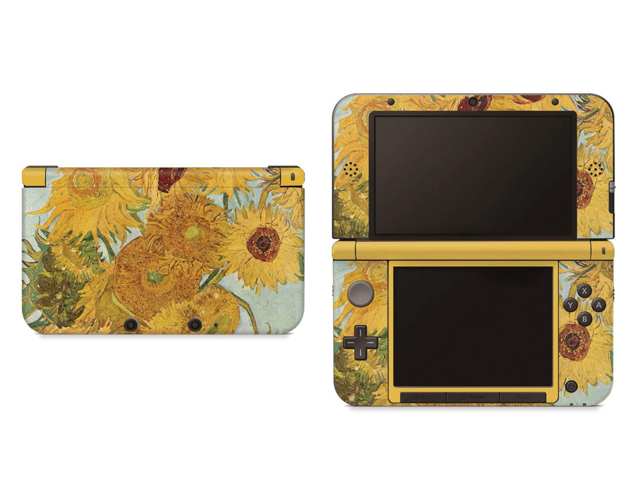 Sticky Bunny Shop Nintendo 3DS XL New 3DS XL Twelve Sunflowers By Van Gogh Nintendo 3DS XL Skin