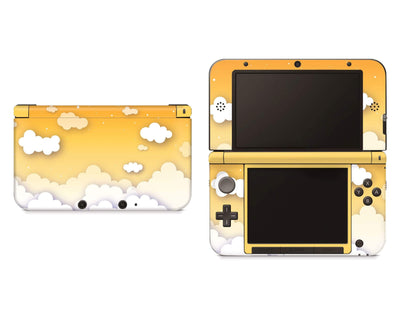 Sticky Bunny Shop Nintendo 3DS XL Yellow Clouds In The Sky Nintendo 3DS XL Skin
