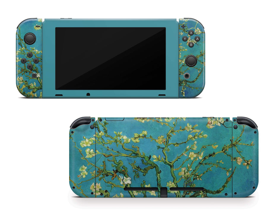 Sticky Bunny Shop Nintendo Switch Full Set Almond Blossom By Van Gogh Nintendo Switch Skin