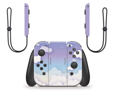 Sticky Bunny Shop Nintendo Switch Clouds In The Sky Nintendo Switch Skin
