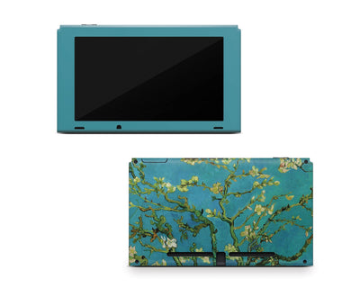 Sticky Bunny Shop Nintendo Switch Console Only Almond Blossoms By Van Gogh Nintendo Switch Skin
