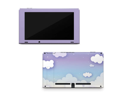 Sticky Bunny Shop Nintendo Switch Console Only Clouds In The Sky Nintendo Switch Skin