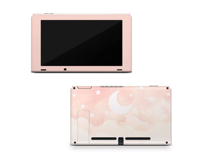 Sticky Bunny Shop Nintendo Switch Console Only Creme Lunar Sky Nintendo Switch Skin