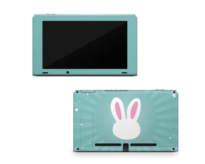 Sticky Bunny Shop Nintendo Switch Console Only Cute Bunny Nintendo Switch Skin