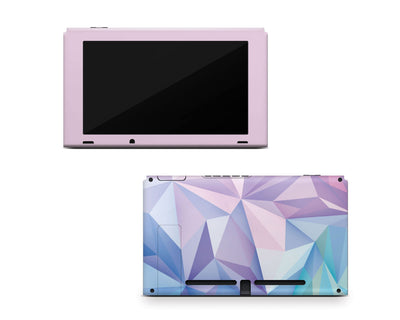 Sticky Bunny Shop Nintendo Switch Console Only Geometric Pastel Nintendo Switch Skin