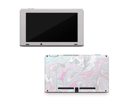 Sticky Bunny Shop Nintendo Switch Console Only Pastel Marble Nintendo Switch Skin
