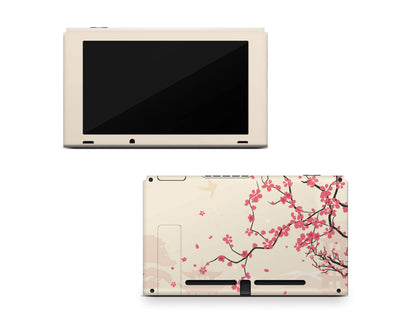 Sticky Bunny Shop Nintendo Switch Console Only Sakura Blossoms Nintendo Switch Skin