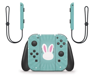 Sticky Bunny Shop Nintendo Switch Cute Bunny Nintendo Switch Skin