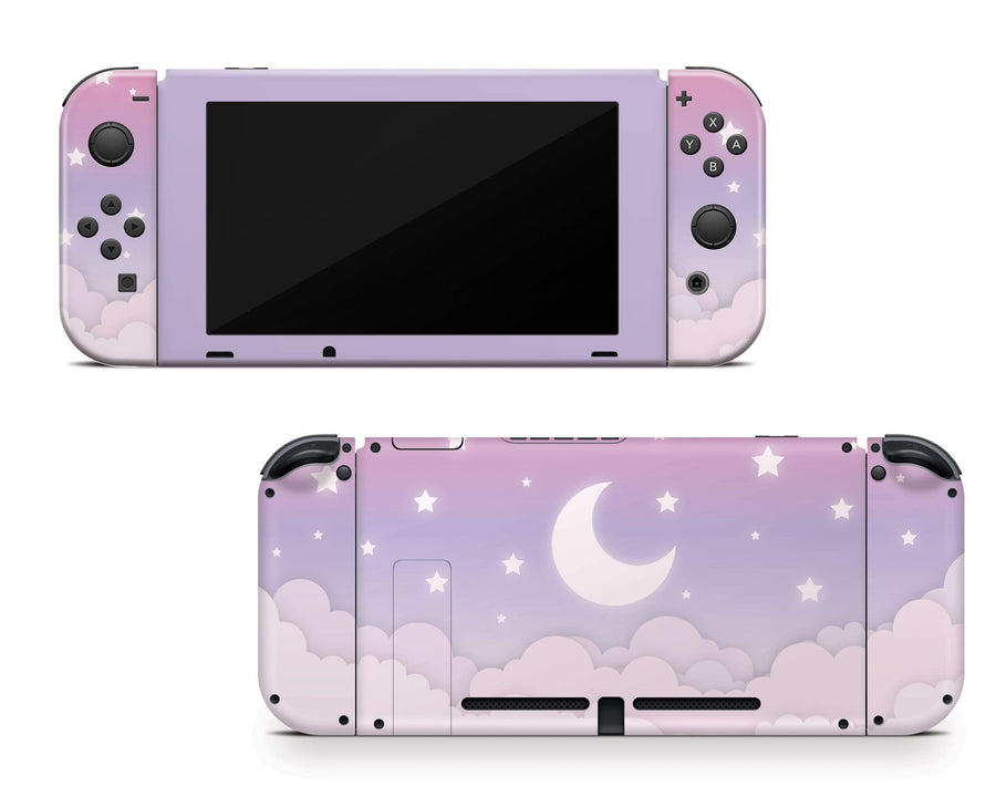 Sticky Bunny Shop Nintendo Switch Cute Lunar Sky Nintendo Switch Skin