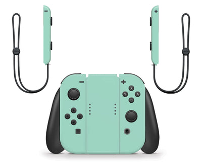 Sticky Bunny Shop Nintendo Switch Cute Solid Pastel Nintendo Switch Skin | Choose Your Color