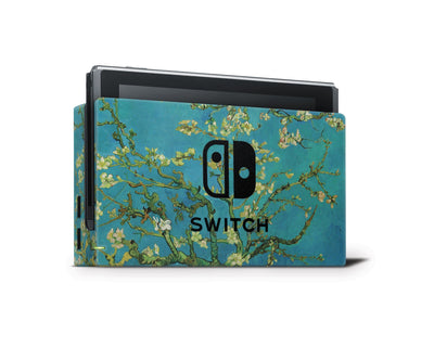 Sticky Bunny Shop Nintendo Switch Dock Only Almond Blossoms By Van Gogh Nintendo Switch Skin