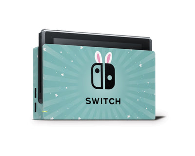 Sticky Bunny Shop Nintendo Switch Dock Only Cute Bunny Nintendo Switch Skin