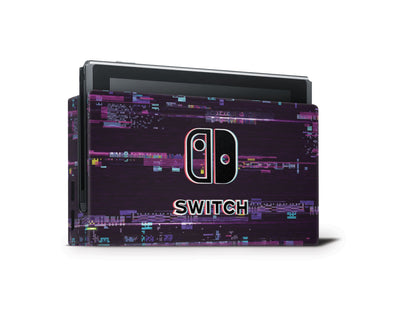 Sticky Bunny Shop Nintendo Switch Dock Only Game Over Glitch Nintendo Switch Skin