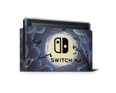 Sticky Bunny Shop Nintendo Switch Dock Only Ghost Of The Night Nintendo Switch Skin