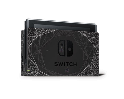 Sticky Bunny Shop Nintendo Switch Dock Only Spooky Spider Nintendo Switch Skin