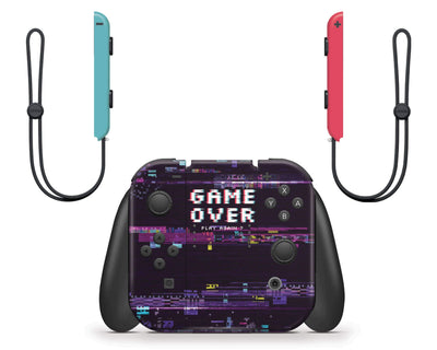 Sticky Bunny Shop Nintendo Switch Game Over Glitch Nintendo Switch Skin