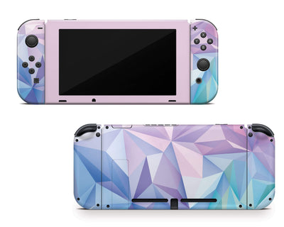 Sticky Bunny Shop Nintendo Switch Geometric Pastel Nintendo Switch Skin