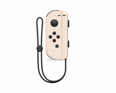 Sticky Bunny Shop Nintendo Switch Left Joy-Con / Egg Creme Mix & Match - Creme Collection Nintendo Switch Joy-Con Skin