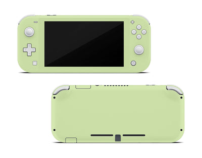 Sticky Bunny Shop Nintendo Switch Lite Baby Green Cute Solid Pastel Nintendo Switch Lite Skin | Choose Your Color