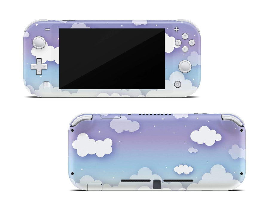 Sticky Bunny Shop Nintendo Switch Lite Clouds In The Sky Nintendo Switch Lite Skin