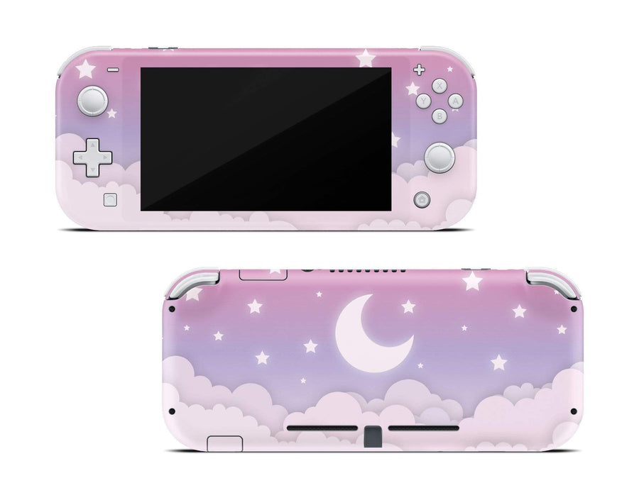 Sticky Bunny Shop Nintendo Switch Lite Cute Lunar Sky Nintendo Switch Lite Skin