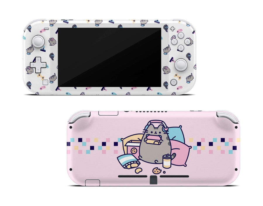 Sticky Bunny Shop Nintendo Switch Lite Gaming Pusheen Nintendo Switch Lite Skin